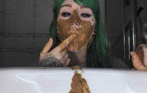 What's this? A girl with shit? – DirtyBetty – Sweet Betty Parlour – Extreme Scat Girl
