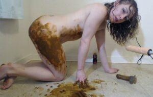 Dirty Anal Smear – Sunnydelight69 Dildo Scat