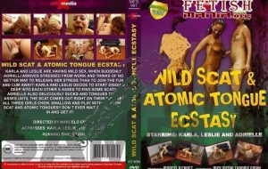 MFX-907 Wild Scat And Atomic Tongue Ecstasy Ebony Scat [Leslie] brazil scat