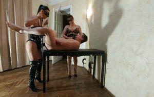Kytana Gyulia and friend strapon and diarrhea with GoddessAndreea Scat Slave Fuck